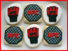 UFC cookies #MMA #UFC #Fight 8531 Santa Monica Blvd West Hollywood, CA 90069 - Call or stop by anytime.