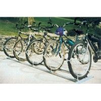 9-Bike Double-Sided Hot-Dip Galvanized Mountain Bike Stand