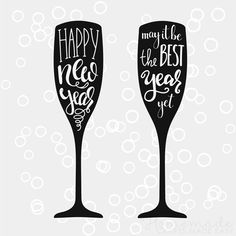 Happy new year images | Happy New Year - may it be the best year yet! (Champagne glasses) Good Wishes Quotes, New Year Wishes Messages, New Year Message, Wish Quotes, Fun Quotes, New Years Eve Quotes, New Years Eve Nails, Quotes About New Year, Year Quotes