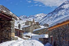 Le #village de Bonneval-sur-Arc en #Savoie. #Alpes #France