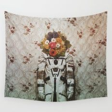 bouquet Wall Tapestry