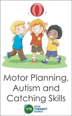 A recent study examined motor planning, autism and the skill of catching a ball to determine more specific information regarding impairments. Pediatric Occupational Therapy, Pediatric Ot, Gross Motor Activities, Gross Motor Skills, Helping Children, Children With Autism, Motor Planning, Autism Quotes, Autism Spectrum Disorder