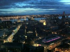 Liverpool by night taken from the radio city tower I ❤ Liverpool