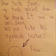 Well that is too bad. How do you think the tooth farei will feel about this? Lol. This showed up on my time hop today and I have no idea of the origin but it's pretty hysterical! #teacherhumor #parenthumor