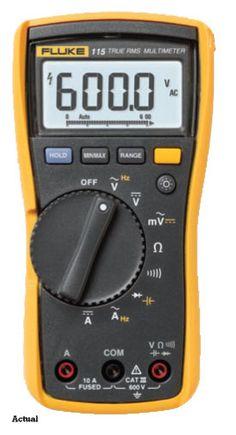 Fluke 115 Compact True-RMS Digital Multimeter - Amazon.com