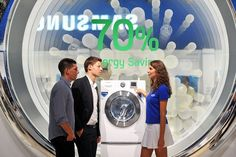 Samsung Electronics unveiled its new home appliances with the industry and consumers at IFA 2011. At the show, Samsungs innovative products, combined with the latest smart technology, were laid out in the context of living a Smarter Life that ultim nice image to share
