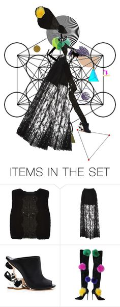 """""""Geometry"""" by diannecollier ❤ liked on Polyvore featuring art and polyvoreeditorial"""