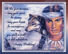 Native American Birthday Blessing