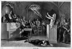 """This article compares the play, """"The Crucible"""" to the real story of the Salem Witch Trails. Good stuff."""