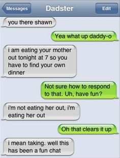 Everything Funny - Page 38 of 1041 - Updated Hourly! - Thousands of Funny Pictures, Funny Text Messages, Funny Memes, Quotes and More for Hours of Entertainment! Funny Shit, Funny Texts Jokes, Text Jokes, Funny Text Fails, Funny Text Messages, Funny Stuff, Epic Texts, Prank Texts, Text Message Fails