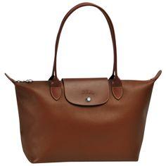 Longchamp brown leather