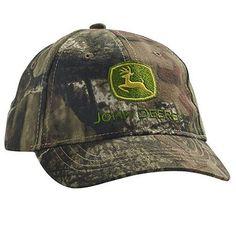 7d4c5726117 John Deere Toddler Mossy Oak Licensed Camo Green Hat