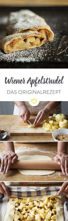 Original Wiener Apfelstrudel – warm, lecker und natürlich selbstgemacht