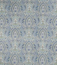 Upholstery Fabric-SMC Designs Cache Lapis at Joann.com- like the more muted tones; would need for drapes though