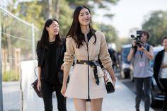 Paris Fashion Week – Spring/Summer 2015 – Streetstyle~ Liu Wen