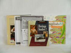 Bob Jones Heritage Studies 2 w. Teacher, Notebook, Test &  Writing & Grammar 2 #TextbookBundleKit