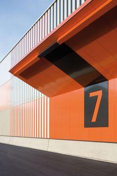 """"""" Cargocenter in Frankfurt """" by Kölling Architekten #architecture #type"""