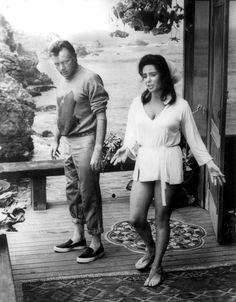 Elizabeth & Richard On the set of The Sandpiper