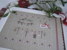 Tableau atelier de Noël, charmante interprétation!!