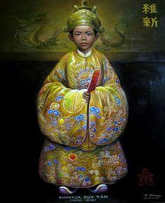 DUY TÂN - Chân Dung Các Vua Triều Nguyễn