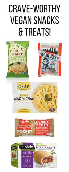 Vegan snacks & treats that make going vegan easy!