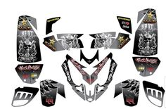 Polaris Predator 500 ATV Quad Graphic Kit | eBay