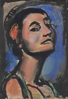Portrait de Maria Lani , 1929 Georges Roualt