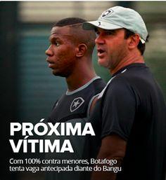 BotafogoDePrimeira: Com 100% contra menores, Bota tenta vaga antecipad...
