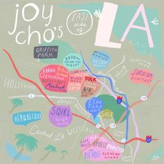 Oh Joy Eats in East La / via Design*Sponge