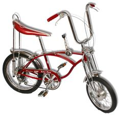"""Schwinn Sting Ray """"Apple Krate"""" Bicycle. My best friend had this. I would bribe her to switch bikes"""