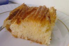Pileli börek olurda tatlısı olmazmı?Ayşegül sağolsun değişik tarifler bulup yapmakda üzerine yok...yine değişik bir tatlı..Ayşegülüm yeni... Vanilla Cake, French Toast, Cheesecake, Pie, Bread, Sweet, Desserts, Food, Drink