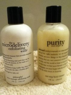 Philosophy skin care- hooked on this stuff.
