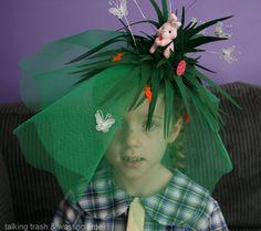 Talking Trash & Wasting Time: DIY Easter Hat parade ideas