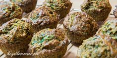 Spinach and Apple Whole Wheat Muffins  Blog — Krystle's Corner