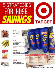 How to use Target Store Coupons and Save the Most Money at Target!