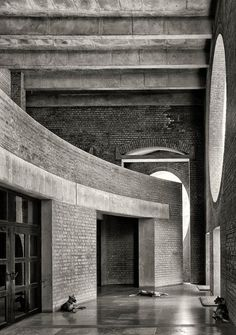 Cemal Emden, Louis I. Kahn · CEMAL EMDEN: Indian Institute of Management Ahmedabad · Divisare