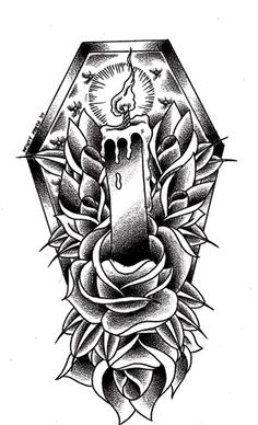 Pictures of tattoos and flash drawings by artist Minty Fresh of Lucky Draw Tattoo in Glendale (near Phoenix), Arizona. Tattoo Drawings, I Tattoo, Tattoo Flash, Lucky Draw Tattoo, Traditional Hand Tattoo, Flash Drawing, Artist Gallery, Casket, Future Tattoos