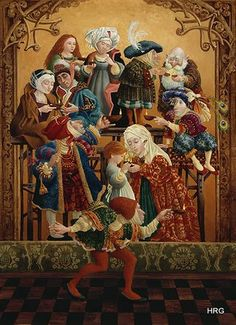 Sharing Our Light by James Christensen