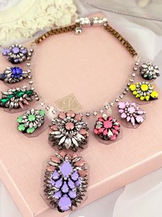 NECKLACE: http://www.glamzelle.com/collections/jewelry-necklaces/products/multicolor-resin-flowers-necklace-1