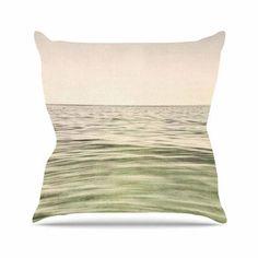"East Urban Home Mystic Sea Iris Lehnhardt Throw Pillow Size: 18"" H x 18"" W x 4"" D"