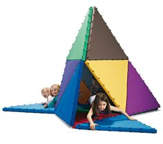 Tukluk Spielmatte in bunten Farben