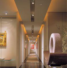 iluminacion interior led techo focos para iluminar pasillos largos y estrechos