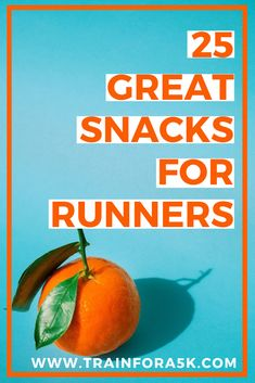 25 great snacks for running. Healthy food options for pre and post race. Health Options, Healthy Food Options, Good Healthy Recipes, Health Tips, Running For Beginners, Running Tips, Food For Running, Running Plan, Running Workouts