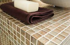 Aurore Tiles @MaterialPlans Mosaico+ Bathroom, Mosaic Tiles, Interiors, Interior Design