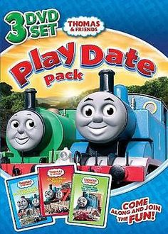Thomas & Friends Play Date Pack (2011) - Used - Dvd