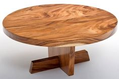 Natural Furniture Round Slab Coffee Table