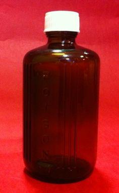 200ml poison bottle, Cospak, Australia