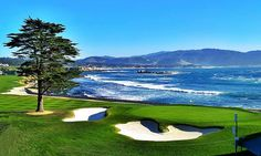 Pebble Beach Golf Course. Named Greatest Public Golf Course in America. Go play it one day.