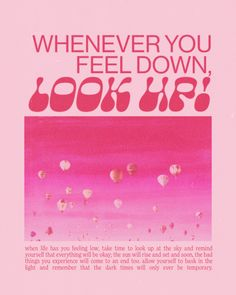 Room Posters, Poster Wall, Poster Prints, Cute Quotes, Words Quotes, Feeling Down, How Are You Feeling, Banners, Aura Colors