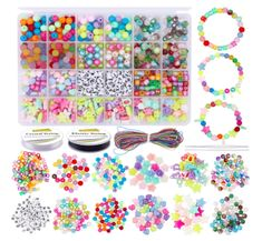 Jewelry Making Beads Kit Letter Beads Kids Girls Adults Acrylic Beads Bracelet DIY Crafts Kids Necklace Bracelet Jewelry Making Beads, Jewelry Making Supplies, Kids Necklace, Letter Beads, Bead Kits, Kits For Kids, Acrylic Beads, Flower Shape, Bead Crafts